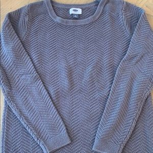 Taupe Cable Sweater